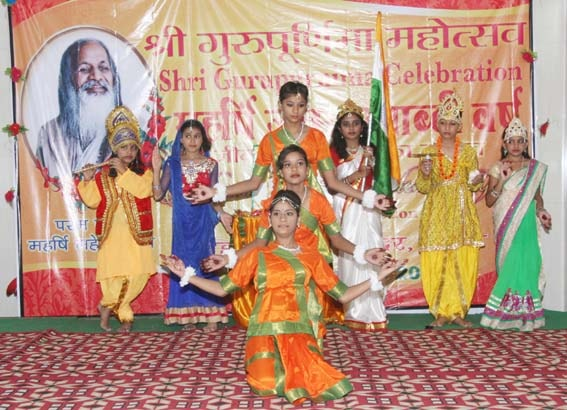 mvm bareilly students have performed cultural programme