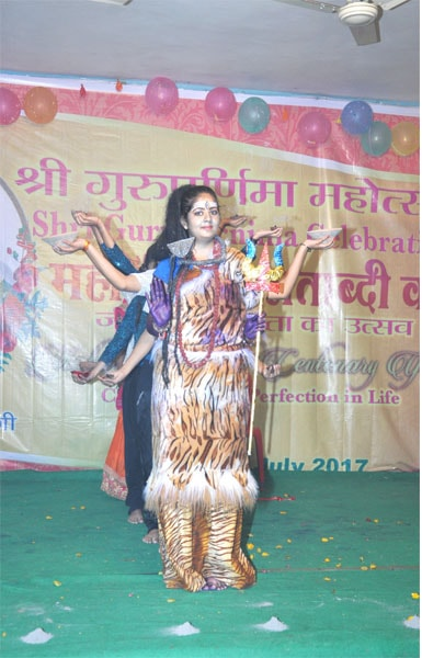 students have performed beautiful dance on peace of lord shiv
